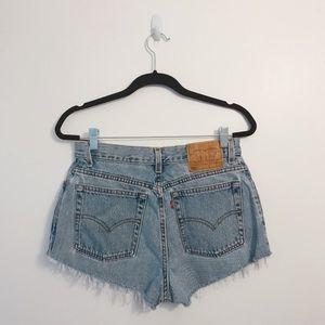 Vintage Levi's 550 Cut Off Shorts